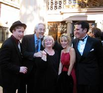 Left to Right: Chris M. Allport (Tootles), Wayne Allwine (Mickey Mouse), Russi Taylor (Minnie Mouse), Tracy Martin (Numerous Animated Characters) and Tony Anselmo (Donald Duck)